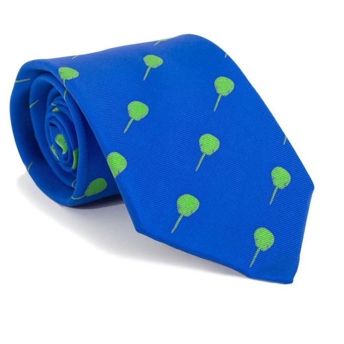 Horseshoe Crab Necktie - Blue, Printed Silk - SummerTies
