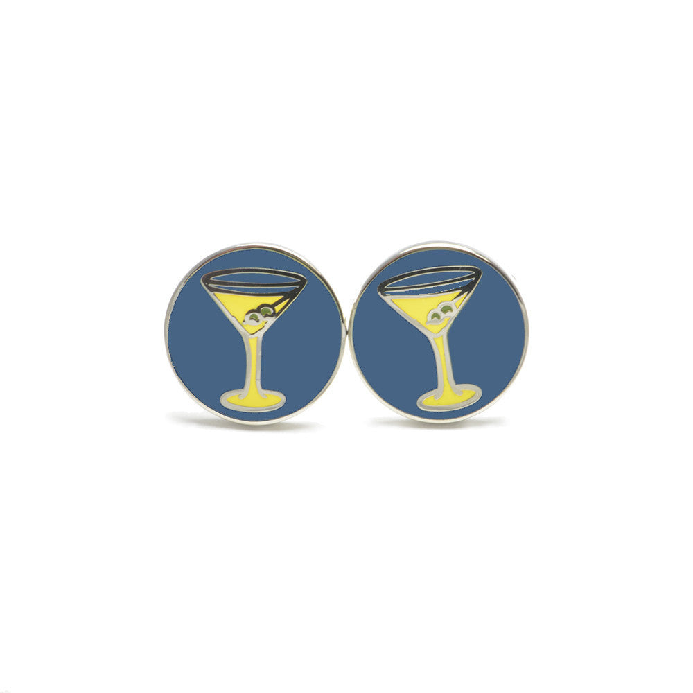 Martini Cufflinks - SummerTies