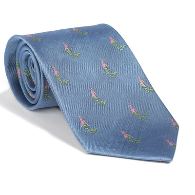 Mermaid Necktie - Blue - SummerTies