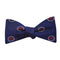 Newport Bridge 4th of July Bow Tie - Woven Silk - SummerTies