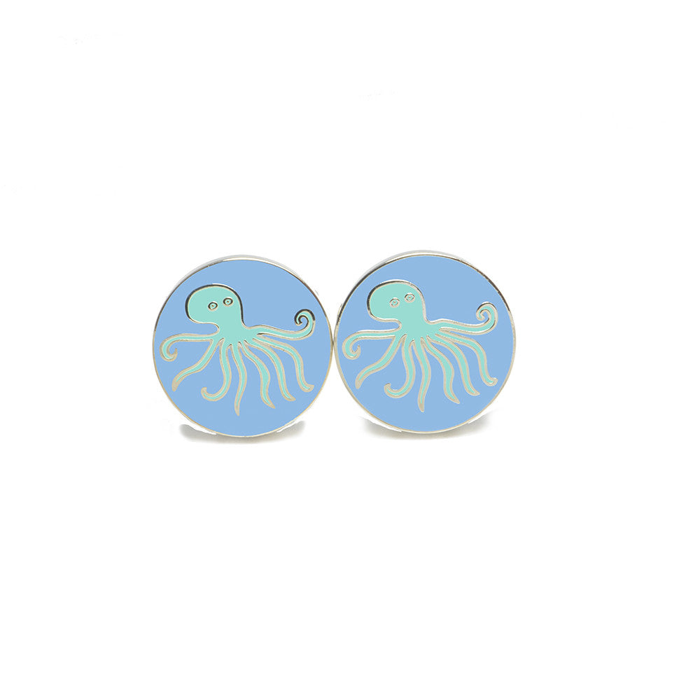Octopus Cufflinks - SummerTies