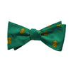 Pineapple Bow Tie - Woven Silk - SummerTies