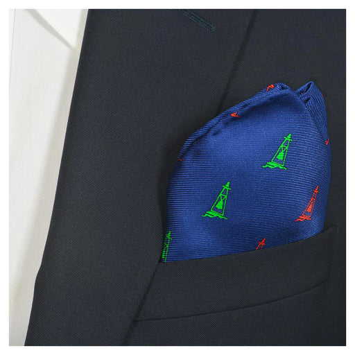 Buoy Pocket Square - Port & Starboard - SummerTies