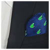 Frog Pocket Square - Navy - SummerTies