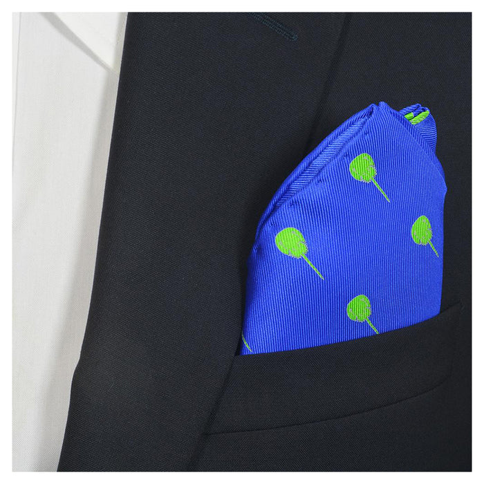 Horseshoe Crab Pocket Square - Blue - SummerTies
