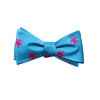 Turtle Bow Tie - Blue - SummerTies