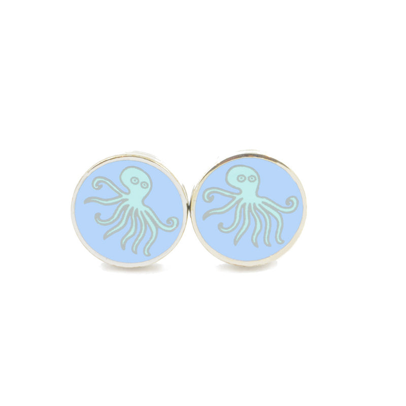 Octopus Earrings - SummerTies