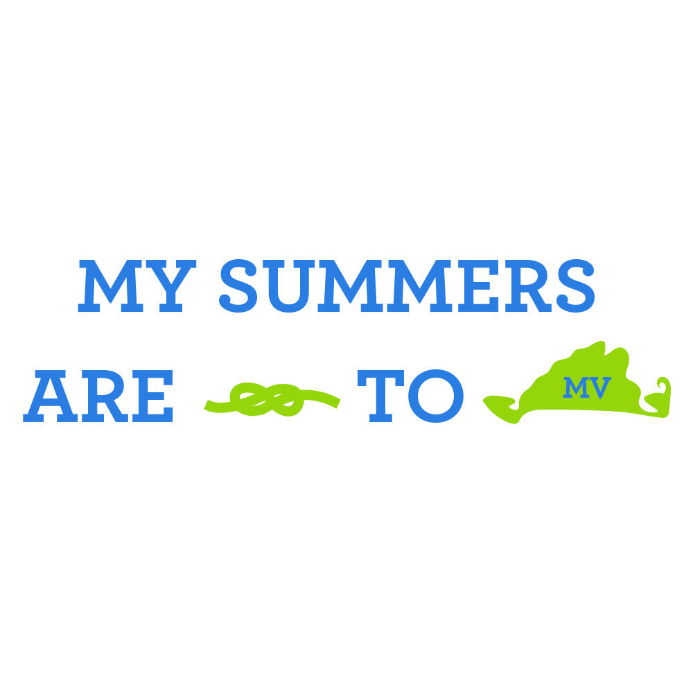 My Summers are Tied To MV - Island - T-Shirt - Long Sleeve - SummerTies