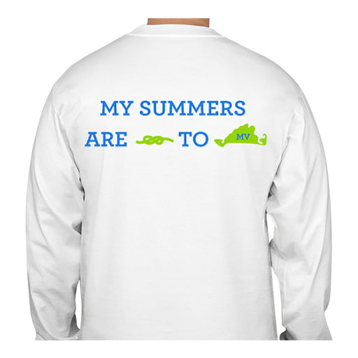 My Summers are Tied To MV - Island - T-Shirt - Long Sleeve
