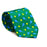 Tennis Racquet & Ball Necktie - Printed Silk - SummerTies