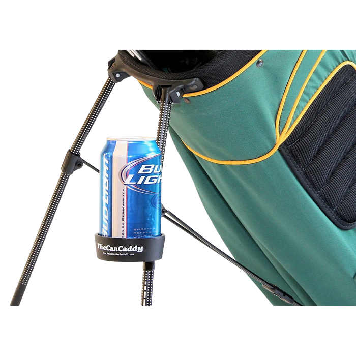 The Can Caddy a Golf Bag Drink Holder — SummerTies