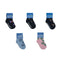 5 Pairs - Toddler Crew Socks - Group 1 - SummerTies