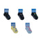5 Pairs - Toddler Crew Socks - Group 2 - SummerTies