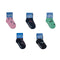 5 Pairs - Toddler Crew Socks - Group 3 - SummerTies