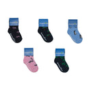 5 Pairs - Toddler Crew Socks - Group 4 - SummerTies