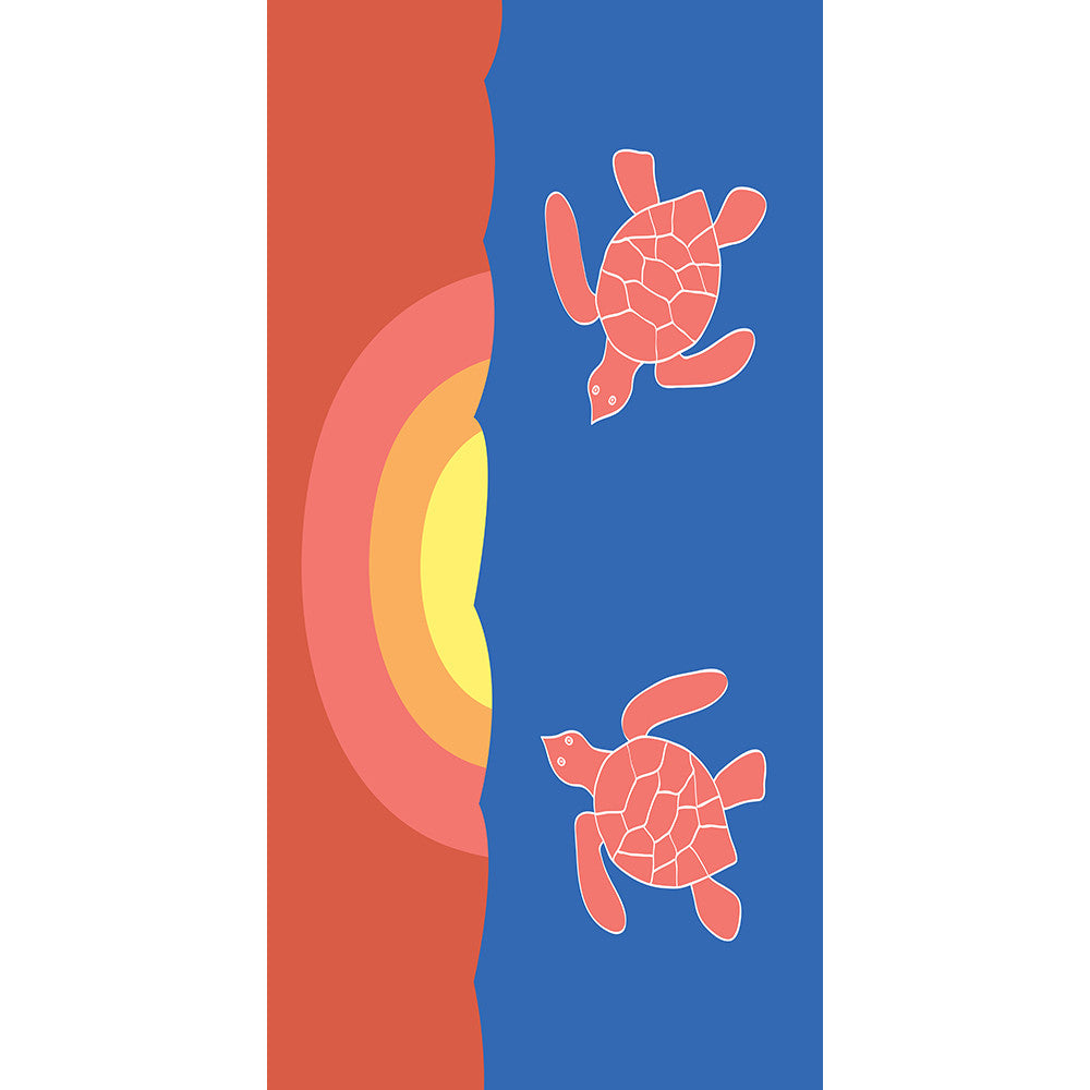 Turtle Towel - SummerTies
