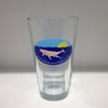 Humpback Whale 16oz Pint Glass - SummerTies