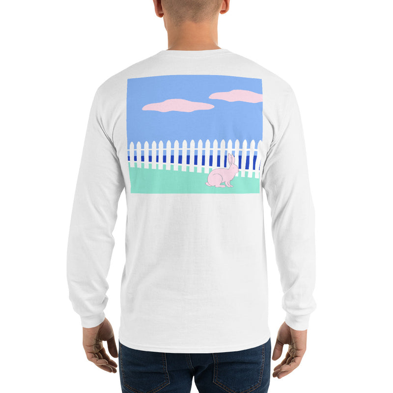 Rabbit II Long Sleeve T-Shirt - Multiple Colors - SummerTies