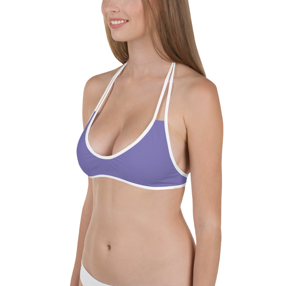 Bikini Top - Purple - SummerTies