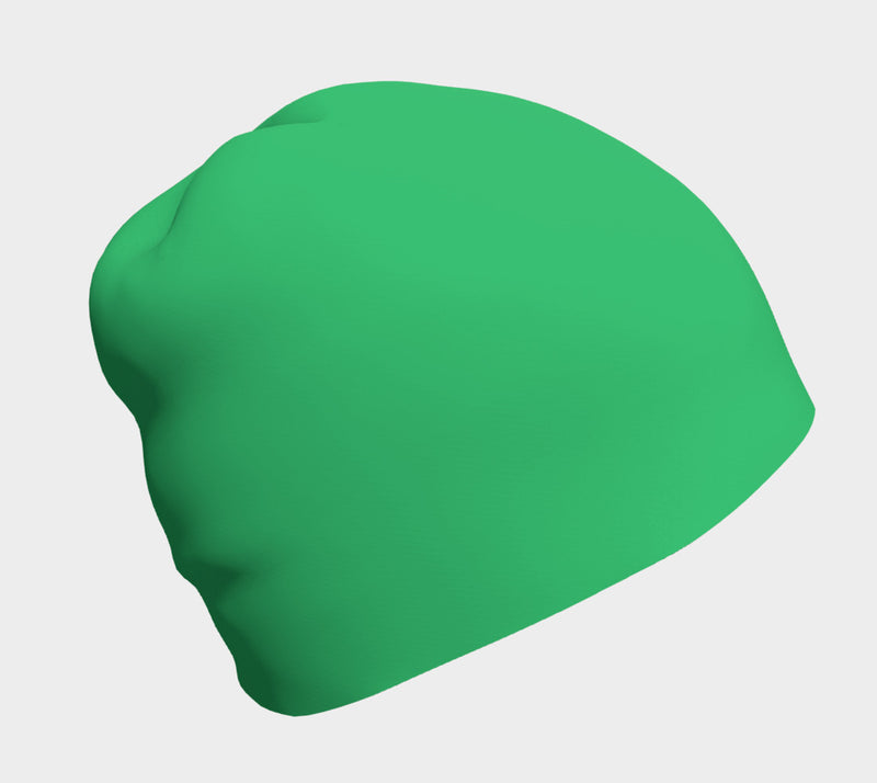 Solid Winter Beanie - Green - SummerTies