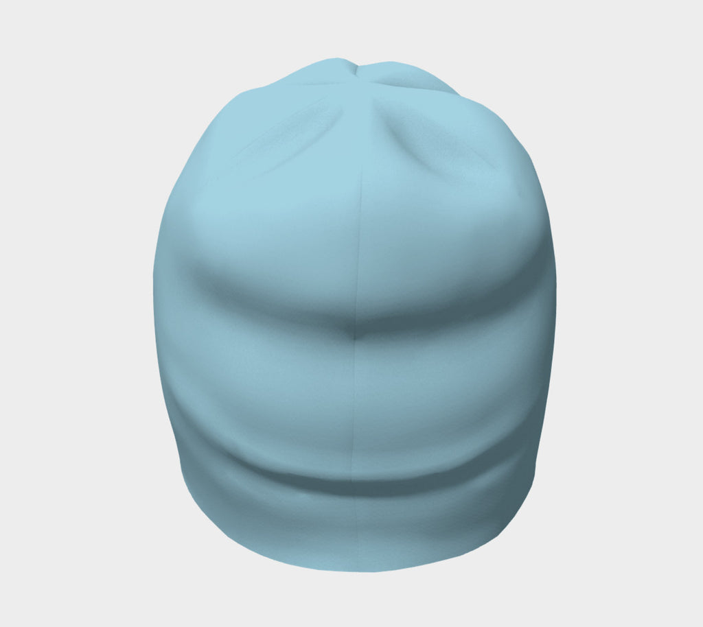 Solid Winter Beanie - Light Blue