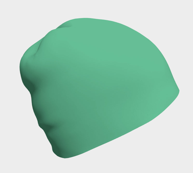 Solid Winter Beanie - Light Green - SummerTies