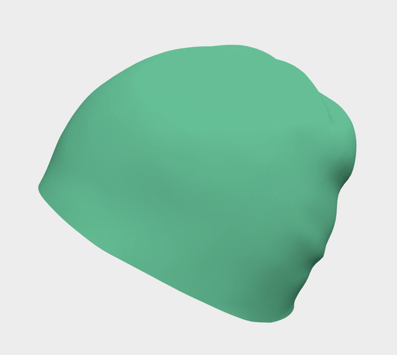 Solid Winter Beanie - Light Green