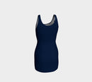 Solid Bodycon Dress - Navy