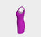 Solid Bodycon Dress - Purple