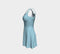 Solid Flare Dress - Light Blue