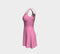 Solid Flare Dress - Light Pink