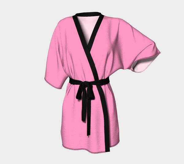 Solid Kimono Robe - Light Pink - SummerTies