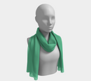 Solid Long Scarf - Light Green - SummerTies