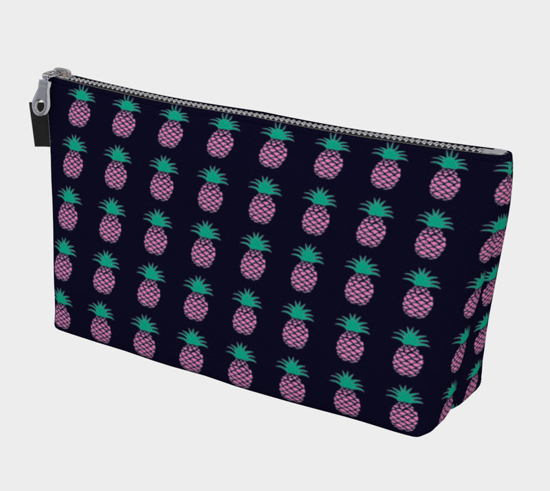 Pineapple Makeup Bag - Navy - SummerTies