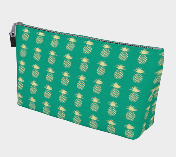 Pineapple Makeup Bag - Green - SummerTies