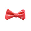 Anchor Bow Tie - Port (Coral Red) - SummerTies