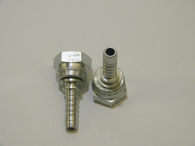 Straight Hydr. Hose Fitting,F 3/8* T  5/16*