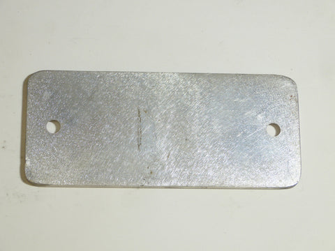 Cover Plate, Track Adjustment