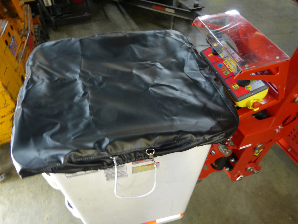 Soft Black Fiberglass Bucket Cover
