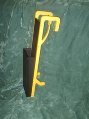 Outside Mounted Chainsaw Scabbard
