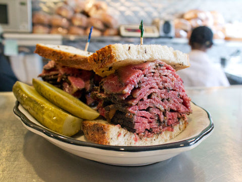 pastrami a New York