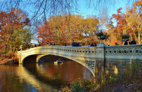 Bow Bridge a Central Park