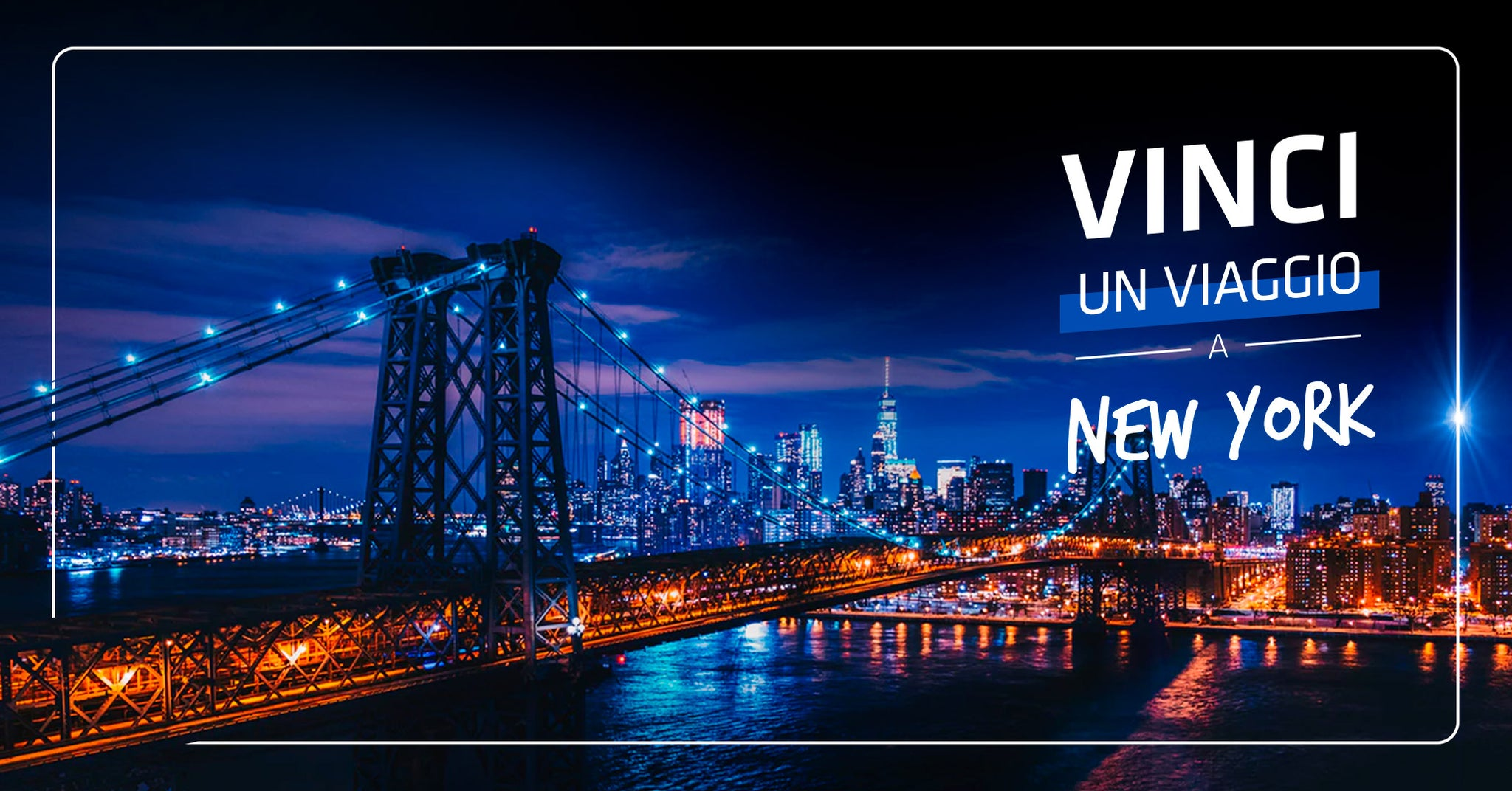 Vinci un viaggio a New York