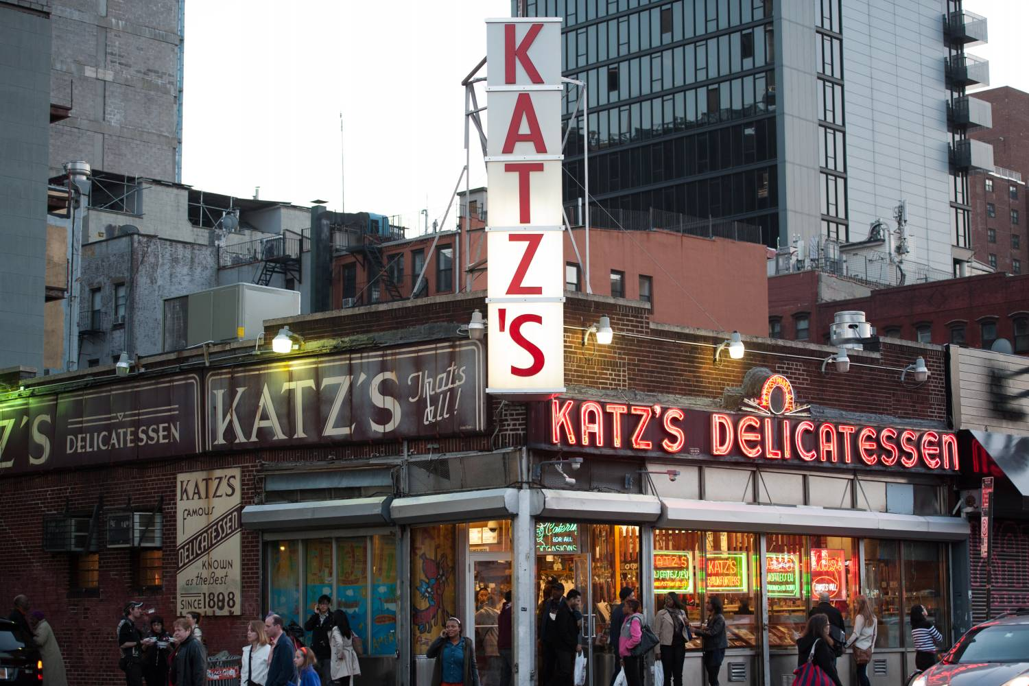 Katz's Delicatessen a New York