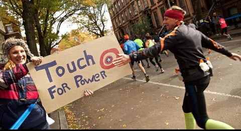 New York Marathon traguardo