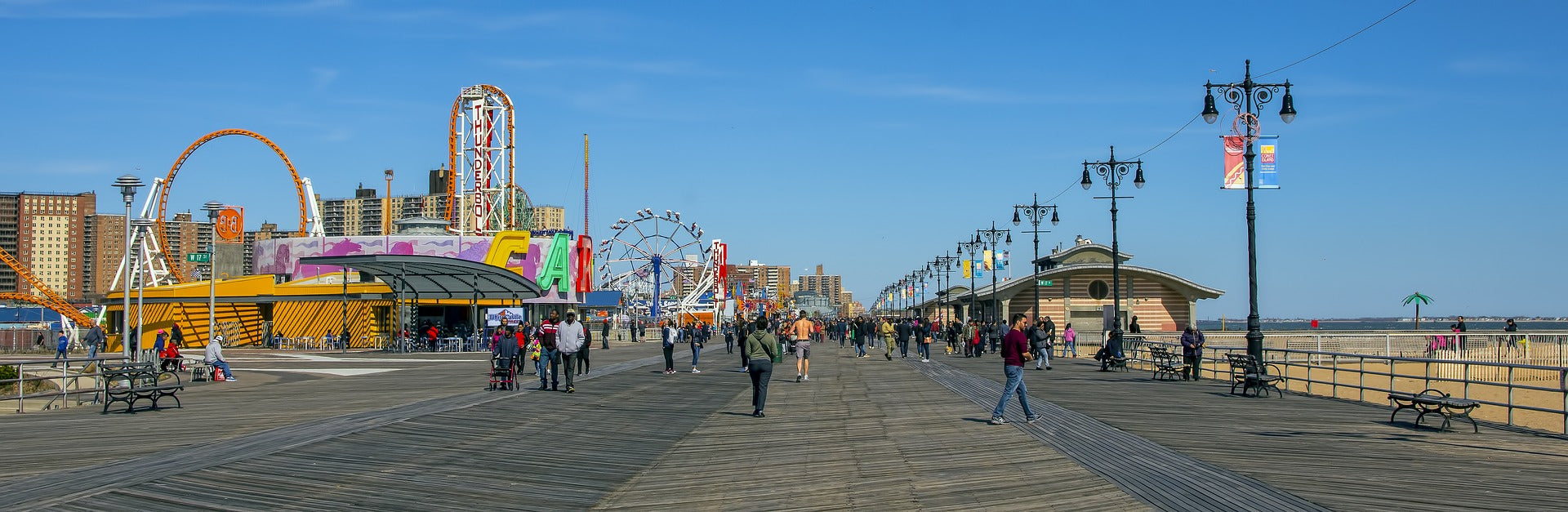 panoramica di Coney Island