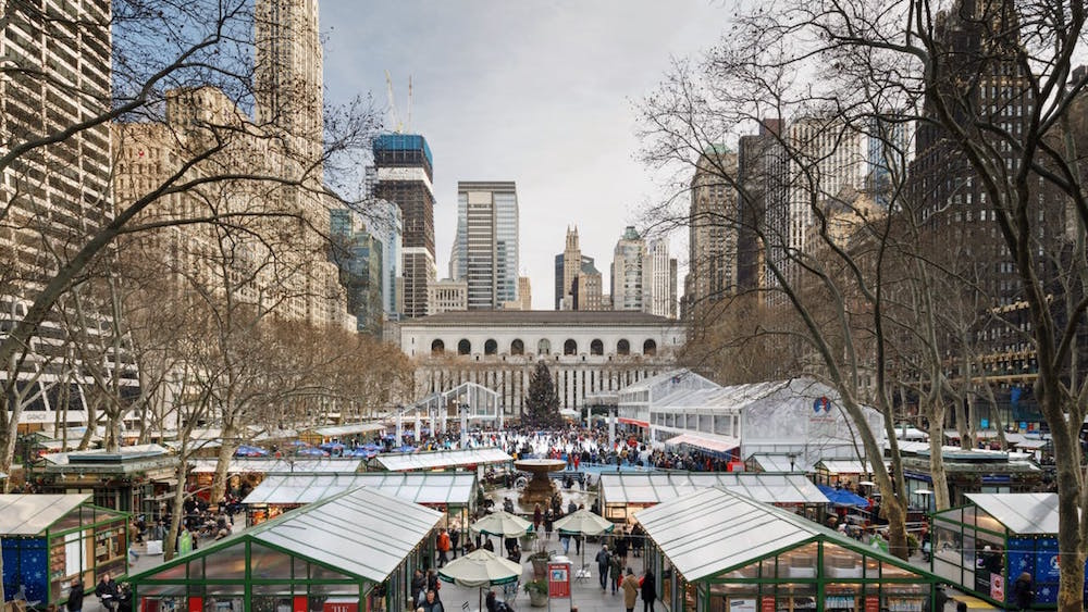 il winter village a bryant park