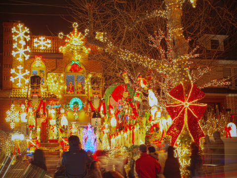 TOUR- Luci di Natale di Dyker Heights