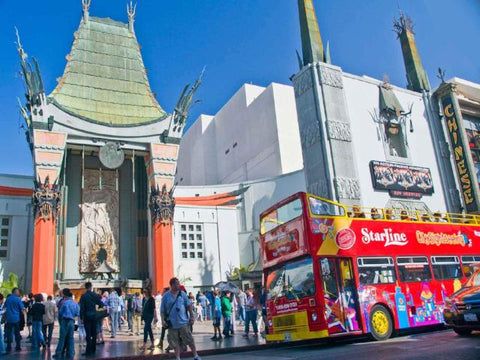 Tour Hop on Hop off Los Angeles 48h + Biglietto Madame Tussauds