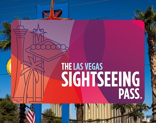 ABBONAMENTO-The Sightseeing Flex Pass Las Vegas 3-11 anni